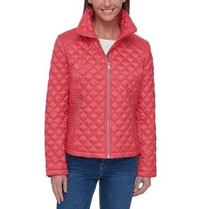 NWT Marc New York Quilted Jacket Coral/Pink S